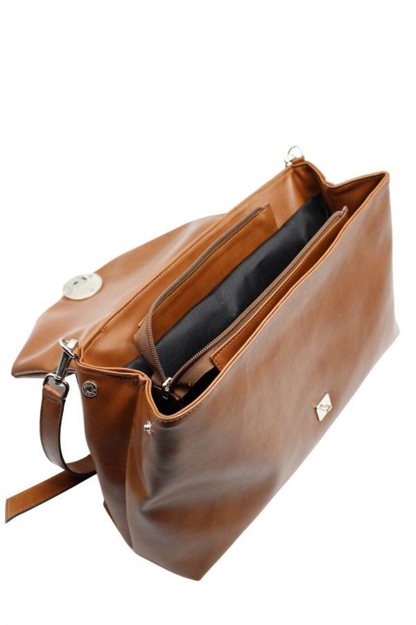 Pochette color cammello Maison24 Borse e accessori in pelle (2)
